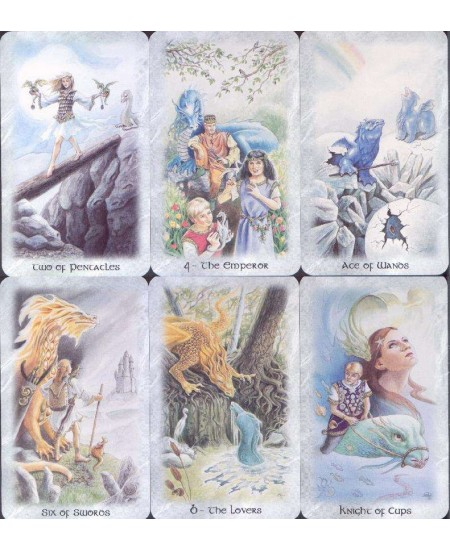 Celtic Dragon Tarot Card Kit at Mystic Convergence Metaphysical Supplies, Metaphysical Supplies, Pagan Jewelry, Witchcraft Supply, New Age Spiritual Store