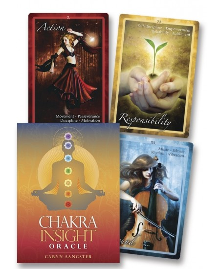 Chakra Insight Oracle Cards at Mystic Convergence Metaphysical Supplies, Metaphysical Supplies, Pagan Jewelry, Witchcraft Supply, New Age Spiritual Store