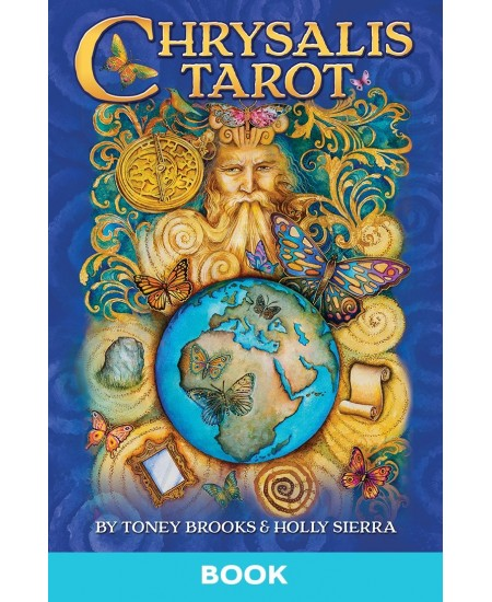 Chrysalis Tarot Book at Mystic Convergence Metaphysical Supplies, Metaphysical Supplies, Pagan Jewelry, Witchcraft Supply, New Age Spiritual Store