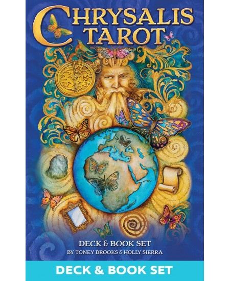 Chrysalis Tarot Cards Deck and Book Set at Mystic Convergence Metaphysical Supplies, Metaphysical Supplies, Pagan Jewelry, Witchcraft Supply, New Age Spiritual Store