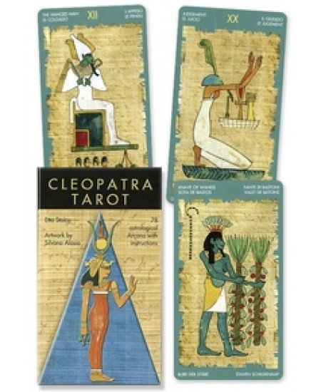 Cleopatra Tarot Cards at Mystic Convergence Metaphysical Supplies, Metaphysical Supplies, Pagan Jewelry, Witchcraft Supply, New Age Spiritual Store