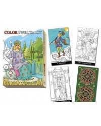 Color Your Own Tarot Deck Mystic Convergence Magical Supplies Wiccan Supplies, Pagan Jewelry, Witchcraft Supplies, New Age Store