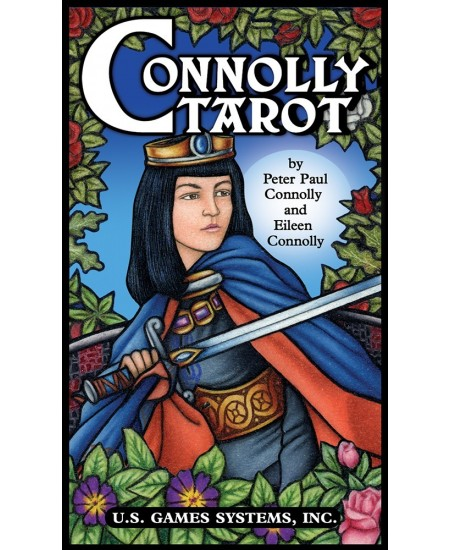 Connolly Tarot Cards at Mystic Convergence Metaphysical Supplies, Metaphysical Supplies, Pagan Jewelry, Witchcraft Supply, New Age Spiritual Store