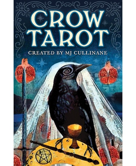 Crow Tarot Cards at Mystic Convergence Metaphysical Supplies, Metaphysical Supplies, Pagan Jewelry, Witchcraft Supply, New Age Spiritual Store