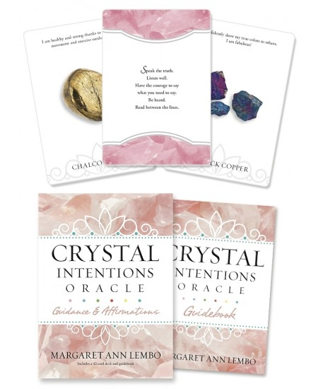Crystal Intentions Oracle Cards at Mystic Convergence Metaphysical Supplies, Metaphysical Supplies, Pagan Jewelry, Witchcraft Supply, New Age Spiritual Store
