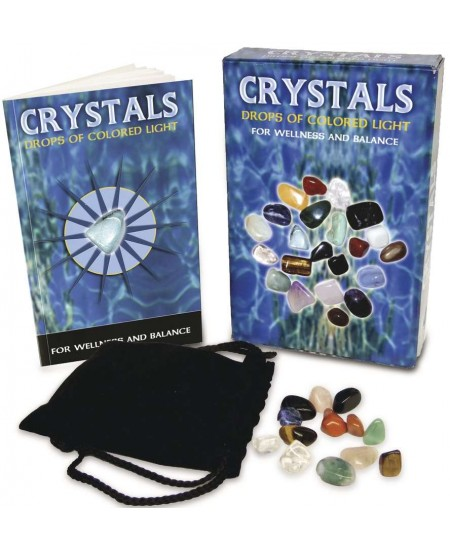 Crystals - Drops of Light Gemstone Kit at Mystic Convergence Metaphysical Supplies, Metaphysical Supplies, Pagan Jewelry, Witchcraft Supply, New Age Spiritual Store