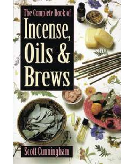 Complete Book of Incense, Oils and Brews at Mystic Convergence Metaphysical Supplies, Metaphysical Supplies, Pagan Jewelry, Witchcraft Supply, New Age Spiritual Store