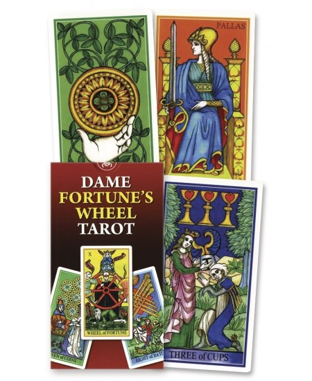 Dame Fortune's Wheel Tarot Card Deck at Mystic Convergence Metaphysical Supplies, Metaphysical Supplies, Pagan Jewelry, Witchcraft Supply, New Age Spiritual Store