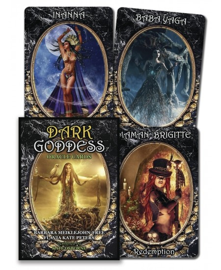Dark Goddess Oracle Cards at Mystic Convergence Metaphysical Supplies, Metaphysical Supplies, Pagan Jewelry, Witchcraft Supply, New Age Spiritual Store