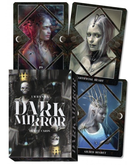Dark Mirror Oracle Cards at Mystic Convergence Metaphysical Supplies, Metaphysical Supplies, Pagan Jewelry, Witchcraft Supply, New Age Spiritual Store