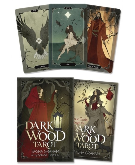 Dark Wood Tarot Cards at Mystic Convergence Metaphysical Supplies, Metaphysical Supplies, Pagan Jewelry, Witchcraft Supply, New Age Spiritual Store