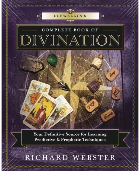 Llewellyn's Complete Book of Divination at Mystic Convergence Metaphysical Supplies, Metaphysical Supplies, Pagan Jewelry, Witchcraft Supply, New Age Spiritual Store