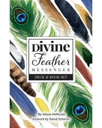 Divine Feather Messenger Cards & Book Set Mystic Convergence Metaphysical Supplies Metaphysical Supplies, Pagan Jewelry, Witchcraft Supply, New Age Spiritual Store