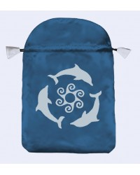 Dolphins Tarot Bag Mystic Convergence Metaphysical Supplies Metaphysical Supplies, Pagan Jewelry, Witchcraft Supply, New Age Spiritual Store