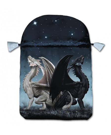 Draconis Satin Bag at Mystic Convergence Metaphysical Supplies, Metaphysical Supplies, Pagan Jewelry, Witchcraft Supply, New Age Spiritual Store