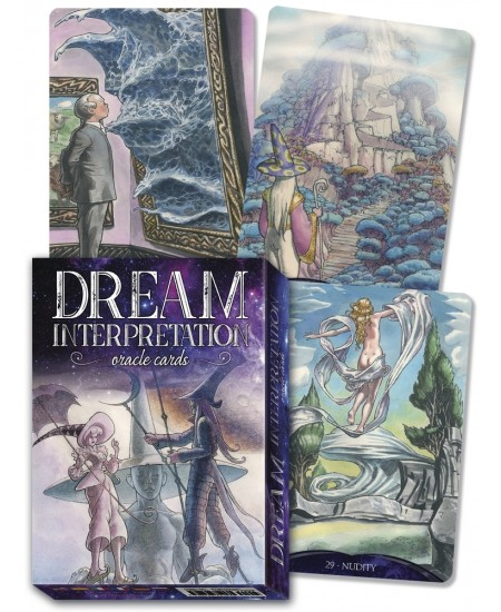 Dream Interpretation Cards at Mystic Convergence Metaphysical Supplies, Metaphysical Supplies, Pagan Jewelry, Witchcraft Supply, New Age Spiritual Store