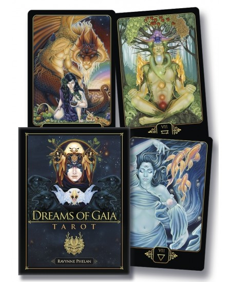 Dreams of Gaia Tarot Cards - A Tarot for a New Era at Mystic Convergence Metaphysical Supplies, Metaphysical Supplies, Pagan Jewelry, Witchcraft Supply, New Age Spiritual Store