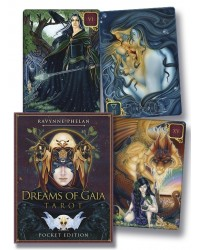 Dreams of Gaia Tarot Cards (Pocket Edition) Mystic Convergence Metaphysical Supplies Metaphysical Supplies, Pagan Jewelry, Witchcraft Supply, New Age Spiritual Store