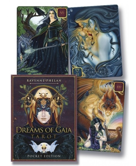Dreams of Gaia Tarot Cards (Pocket Edition) at Mystic Convergence Metaphysical Supplies, Metaphysical Supplies, Pagan Jewelry, Witchcraft Supply, New Age Spiritual Store