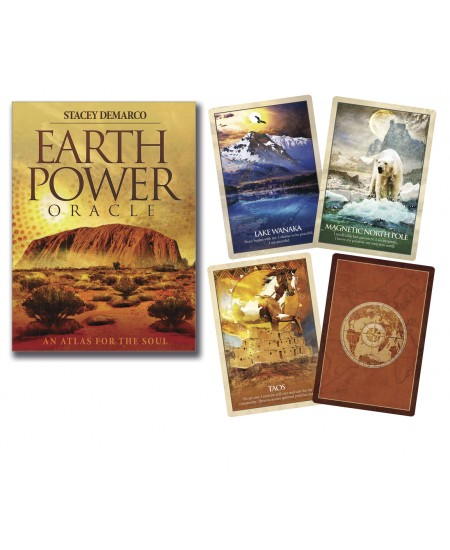 Earth Power Oracle Cards - An Atlas for the Soul at Mystic Convergence Metaphysical Supplies, Metaphysical Supplies, Pagan Jewelry, Witchcraft Supply, New Age Spiritual Store