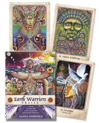 Earth Warriors Oracle Cards - Sacred Guardians Mystic Convergence Metaphysical Supplies Metaphysical Supplies, Pagan Jewelry, Witchcraft Supply, New Age Spiritual Store