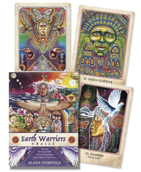 Earth Warriors Oracle Cards - Sacred Guardians at Mystic Convergence Metaphysical Supplies, Metaphysical Supplies, Pagan Jewelry, Witchcraft Supply, New Age Spiritual Store