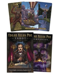 Edgar Allan Poe Tarot Cards Mystic Convergence Metaphysical Supplies Metaphysical Supplies, Pagan Jewelry, Witchcraft Supply, New Age Spiritual Store