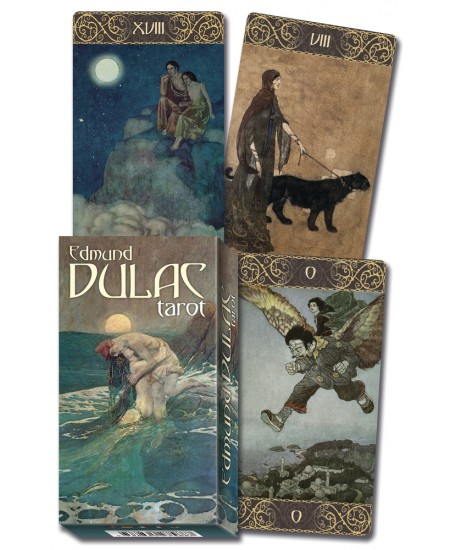 Edmund Dulac Tarot Cards at Mystic Convergence Metaphysical Supplies, Metaphysical Supplies, Pagan Jewelry, Witchcraft Supply, New Age Spiritual Store
