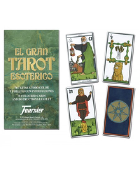 El Gran Tarot Esoterico Cards at Mystic Convergence Metaphysical Supplies, Metaphysical Supplies, Pagan Jewelry, Witchcraft Supply, New Age Spiritual Store