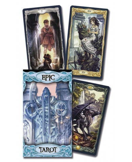 Epic Tarot Deck at Mystic Convergence Metaphysical Supplies, Metaphysical Supplies, Pagan Jewelry, Witchcraft Supply, New Age Spiritual Store
