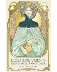 Ethereal Visions: Illuminated Tarot Cards Deck Mystic Convergence Metaphysical Supplies Metaphysical Supplies, Pagan Jewelry, Witchcraft Supply, New Age Spiritual Store