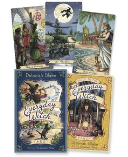 Everyday Witch Tarot Cards at Mystic Convergence Metaphysical Supplies, Metaphysical Supplies, Pagan Jewelry, Witchcraft Supply, New Age Spiritual Store