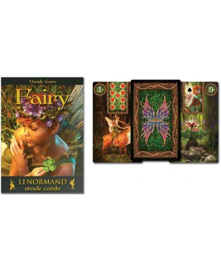 Fairy Lenormand Oracle Cards at Mystic Convergence Metaphysical Supplies, Metaphysical Supplies, Pagan Jewelry, Witchcraft Supply, New Age Spiritual Store