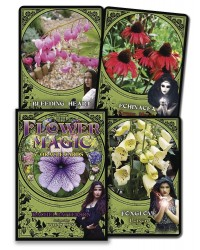 Flower Magic Oracle Cards Mystic Convergence Metaphysical Supplies Metaphysical Supplies, Pagan Jewelry, Witchcraft Supply, New Age Spiritual Store