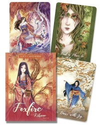 Foxfire - The Kitsune Oracle Cards Mystic Convergence Metaphysical Supplies Metaphysical Supplies, Pagan Jewelry, Witchcraft Supply, New Age Spiritual Store