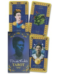 Frida Kahlo Tarot Deck Mystic Convergence Metaphysical Supplies Metaphysical Supplies, Pagan Jewelry, Witchcraft Supply, New Age Spiritual Store