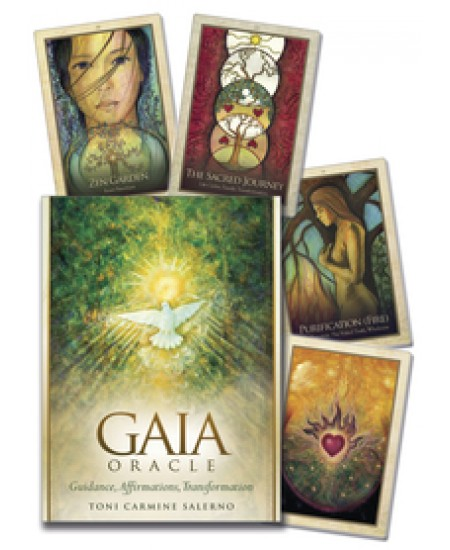 Gaia Oracle Card Deck at Mystic Convergence Metaphysical Supplies, Metaphysical Supplies, Pagan Jewelry, Witchcraft Supply, New Age Spiritual Store