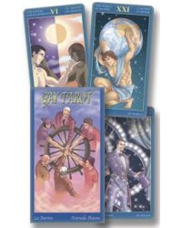Gay Images Tarot Card Deck Mystic Convergence Magical Supplies Wiccan Supplies, Pagan Jewelry, Witchcraft Supplies, New Age Store