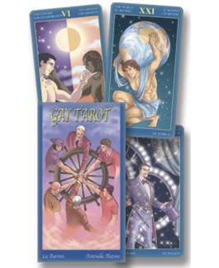 Gay Images Tarot Card Deck at Mystic Convergence Metaphysical Supplies, Metaphysical Supplies, Pagan Jewelry, Witchcraft Supply, New Age Spiritual Store