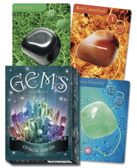 Gems Oracle Cards at Mystic Convergence Metaphysical Supplies, Metaphysical Supplies, Pagan Jewelry, Witchcraft Supply, New Age Spiritual Store