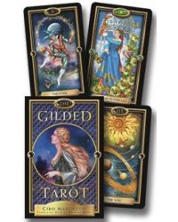 Gilded Renaissance Style Tarot Deck and Book Set Mystic Convergence Magical Supplies Wiccan Supplies, Pagan Jewelry, Witchcraft Supplies, New Age Store
