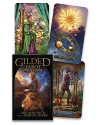 Gilded Tarot Royale Cards Deck Mystic Convergence Metaphysical Supplies Metaphysical Supplies, Pagan Jewelry, Witchcraft Supply, New Age Spiritual Store