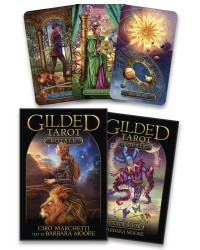 Gilded Tarot Royale Cards Kit Mystic Convergence Metaphysical Supplies Metaphysical Supplies, Pagan Jewelry, Witchcraft Supply, New Age Spiritual Store