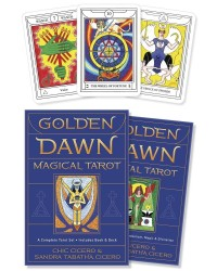 Golden Dawn Magical Tarot Card Deck and Book Set Mystic Convergence Magical Supplies Wiccan Supplies, Pagan Jewelry, Witchcraft Supplies, New Age Store