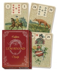 Golden Lenormand Oracle Cards Mystic Convergence Metaphysical Supplies Metaphysical Supplies, Pagan Jewelry, Witchcraft Supply, New Age Spiritual Store