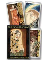 Golden Tarot of Klimt Tarot Deck Mystic Convergence Magical Supplies Wiccan Supplies, Pagan Jewelry, Witchcraft Supplies, New Age Store