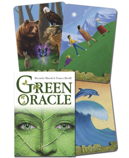 Green Oracle Cards at Mystic Convergence Metaphysical Supplies, Metaphysical Supplies, Pagan Jewelry, Witchcraft Supply, New Age Spiritual Store