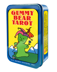 Gummy Bear Tarot Mini Cards in Tin Mystic Convergence Metaphysical Supplies Metaphysical Supplies, Pagan Jewelry, Witchcraft Supply, New Age Spiritual Store