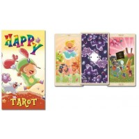 Happy Tarot Colorful Card Deck