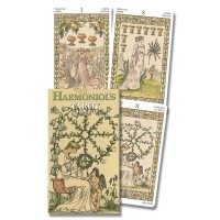 Harmonious Mini Tarot Cards of Lady Victorian Westwood